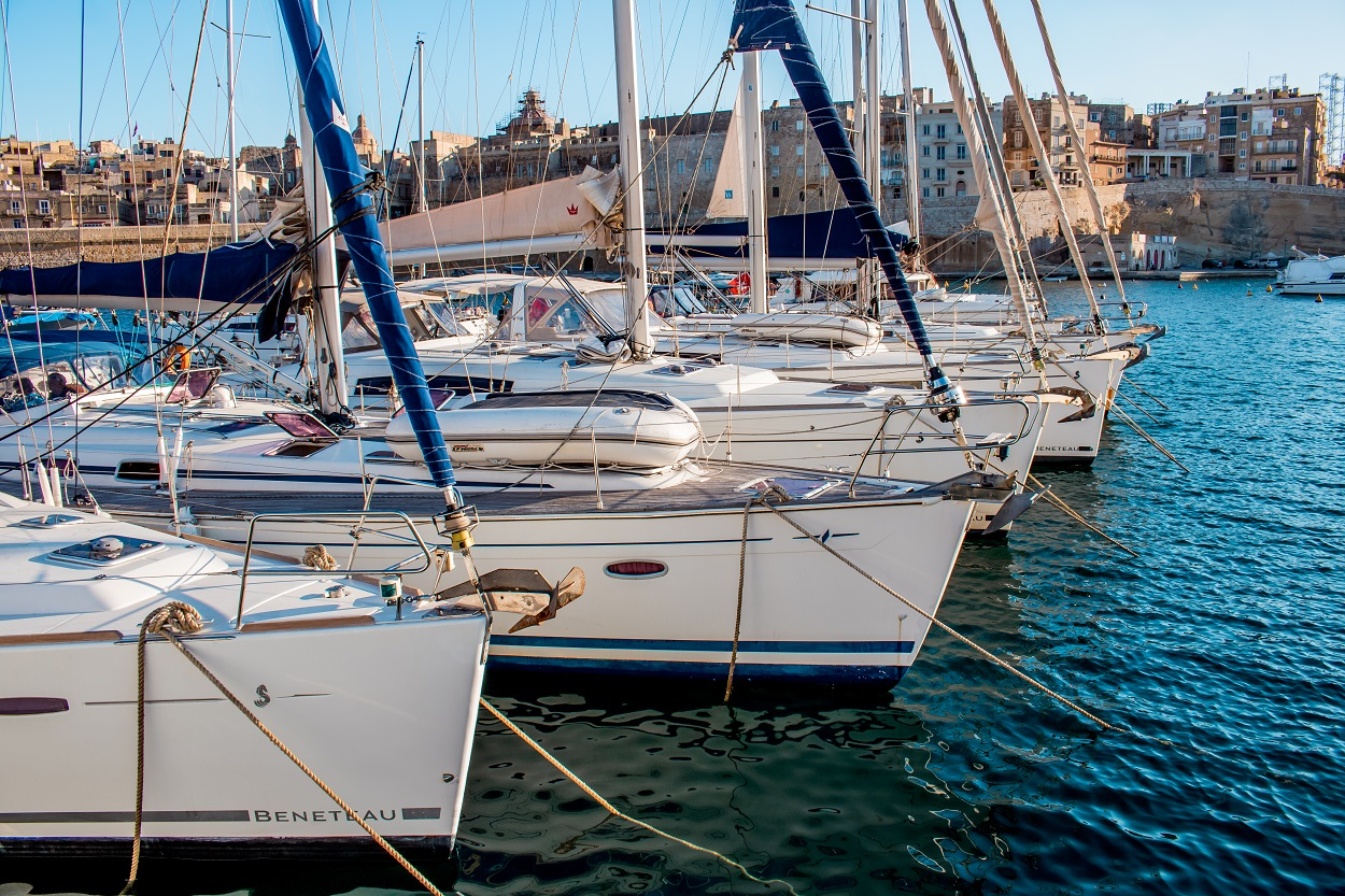 Kalkara Marina Malta Charters