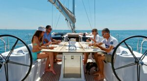 first yacht charter rental