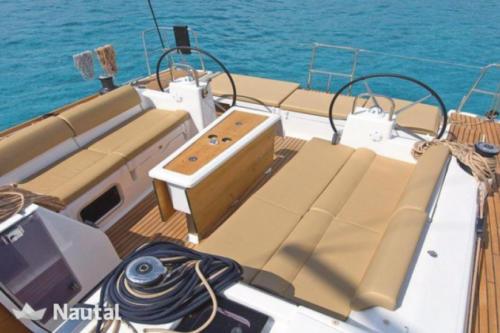 Dufour 460 GL Cockpit